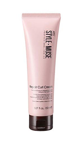 Ats Stylemuse Repair Curl Cream Volume, Natural Hold And Soft, 5.07 Fl.Oz.
