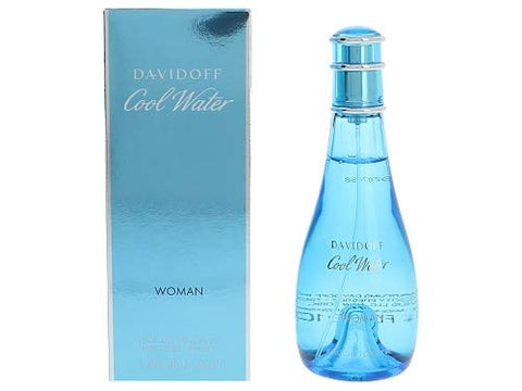 Davidoff Cool Water Woman Eau De Toilette, 3.4 oz.
