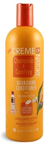 Creme of Nature Nourishing Conditioner, Chamomile & Comfrey, 15.2 oz (Pack of 2)