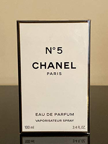 Chanel N5 Eau De Parfum Spray for Women, 3.4 Ounce, Multi