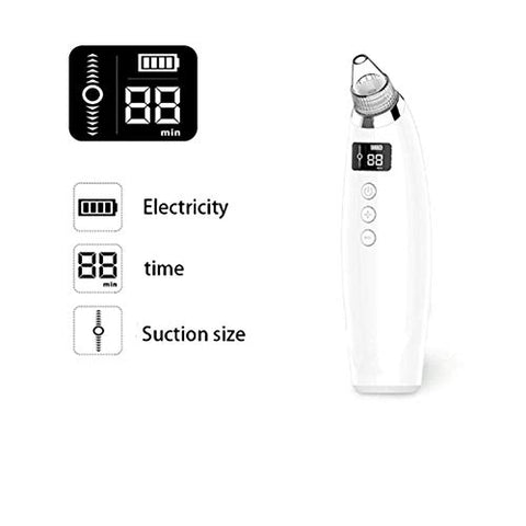 Blackhead Instrument, Blackhead Artifact, Digital Display, Electric Suction Pore Acne, Clean face Beauty Equipment
