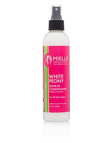 Organic White Peony Ultra Moisturizing Leave In Conditioner