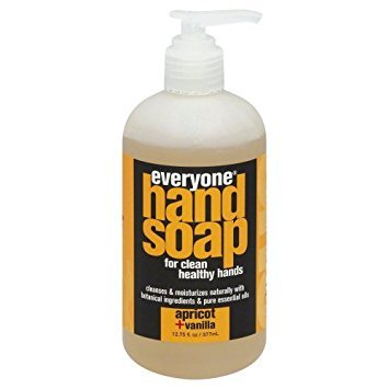 EO Everyone Everyone Hand Soap, Apricot Vanilla 12.75 fl oz (pack of 2)