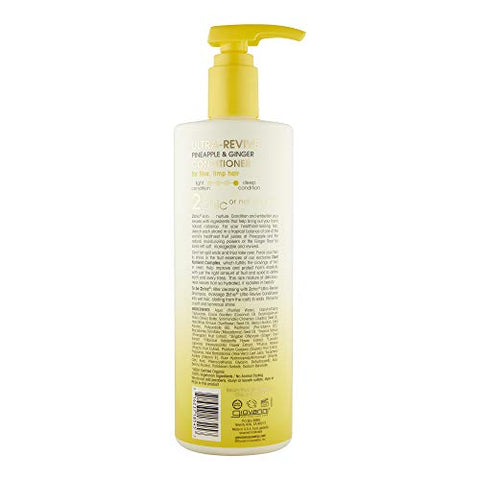 Giovanni 2chic Ultra Revive Conditioner, 24 Oz. Pineapple & Ginger For Dry Unruly Hair, Enriched Wit