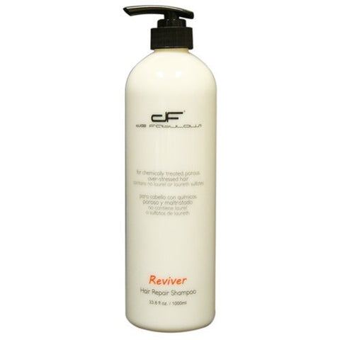 de Fabulous Reviver Hair Repair Shampoo (for chemically treated, porous and over-stressed hair) sulfate free (33.8 fl oz)