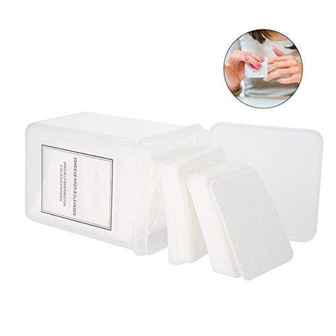 200Pcs/Set Cotton Pads, Wipe Lint Free Cotton Pad Manicure Polish Gel Remover Cleaner Face Cleansing Cloths Toner Pads Facial Wipes