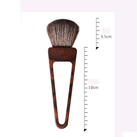 Makeup Brush Outdoor Home Portable Multi-Function Elastic Soft Wool Loose Powder Blush Mini Beauty Brush (Color : B)