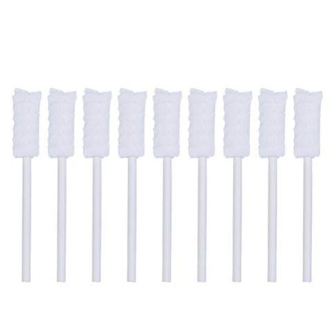 HEALLILY 30pcs Disposable Tongue Cleaner Gauze Baby Toothbrush Mouth Cleaning Tool Teeth Cleaner for Toddlers Infants Children Kids