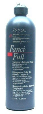 Roux Fanci-Full Rinse #41 True Steel 15.2 oz. (3-Pack) with Free Nail File