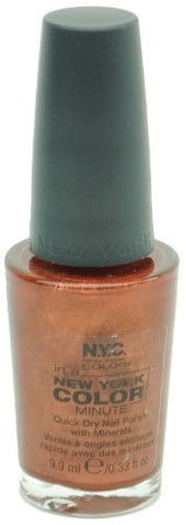 NYC In-a-minute Quick Dry Nail Polish with Minerals, 218B Fifth Avenue, 0.33 Fl Oz