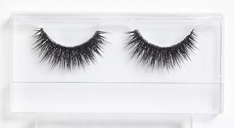 SUPERFLUFF False Eyelashes - Fluffy, Long & Thick Lashes, Black