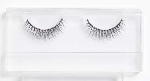 WISPIES False Eyelashes - Mixed Length, Lightweight & Realistic Lashes, Black