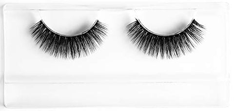 HYPED False Eyelashes - Dramatic Thick & Fluffy Lashes, Black