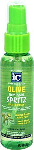 Fantasia Ic Hair Polisher Olive Spritz 2 Oz (Pack of 4)