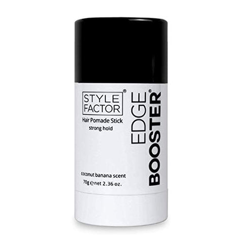 Style Factor Edge Booster Hair Pomade Stick Strong Hold 2.36 oz (COCONUT BANANA)