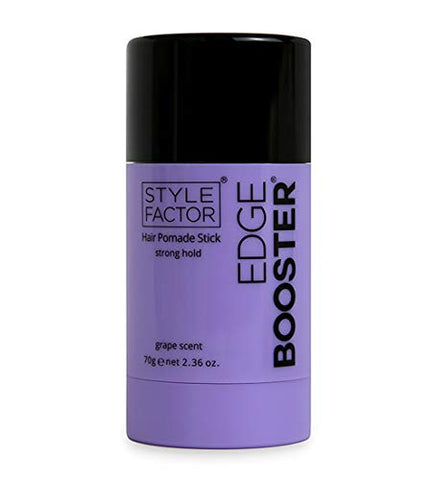 Style Factor Edge Booster Hair Pomade Stick Strong Hold 2.36 oz (GRAPE)