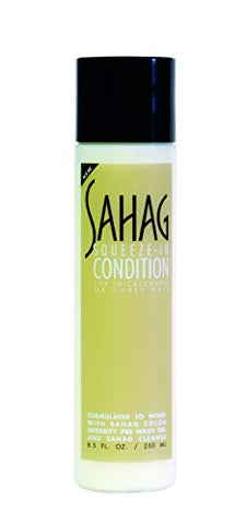 Sahag Squeeze-In Condition, For Thick, Coarse or Curly Hair 8.5 oz