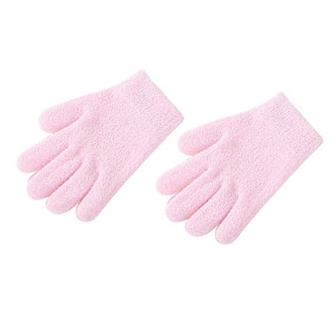 Healifty Moisturizing Glove Skin Care Gloves for Beauty(Pink)