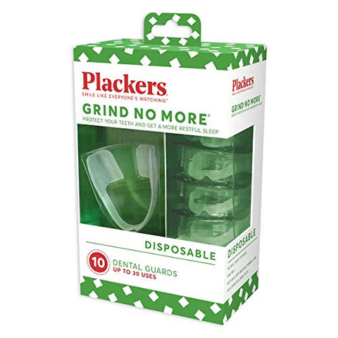 Plackers Mouth Guard Grind No More Dental Night Protector (20 Pack)