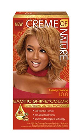 Creme of Nature Exotic Shine Color, Honey Blonde, 10.0 Fluid Ounce
