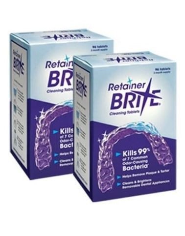 Retainer Brite Retainer Brite  6 Months Supply  2 Boxes Pack  192 Tabletsâ , 192 Count