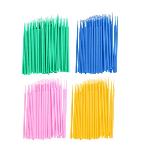 Cotton Swab, Disposable Cosmetic Cotton Swab, Micro Brush for Home Makeup Salon Tattoo