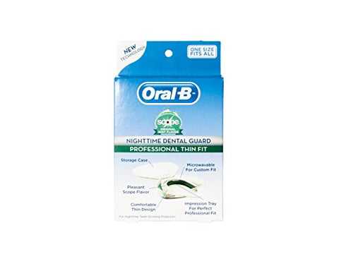 Oral Bã'â® Nighttime Dental Guard   Less Than 3 Minutes For Custom Teeth Grinding Protection With Sc