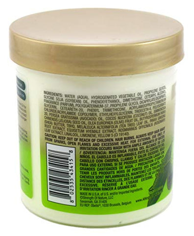 African Pride Olive Miracle Conditioner Leave-In 15 Ounce Jar (443ml) (2 Pack)