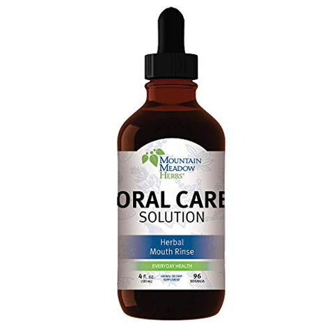 Oral Care Solution - 4 oz - Dental Health Support