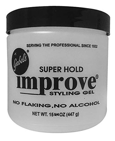 Gabel's Improve Styling Gel, Super Hold, Clear, 15.75 oz Gabel's Direct sealed version Exclusive