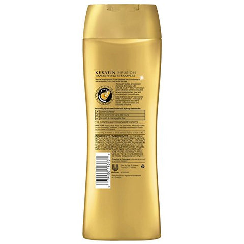 Suave Professionals Smoothing Shampoo Keratin Infusion 12.6 oz (Pack of 8)