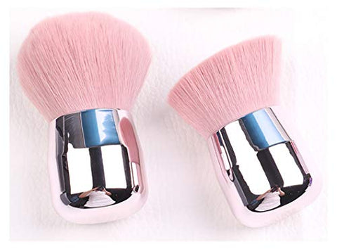 BYAMD 2 pieces Makeup Brushes Mushroom Shaped Premium Quality Synthetic Foundation Flawless Powder Cosmetics Brushes
