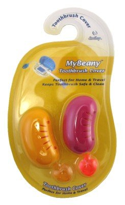 Smiley My Beany Toothbrush Covers 2 Count (3 Pack)