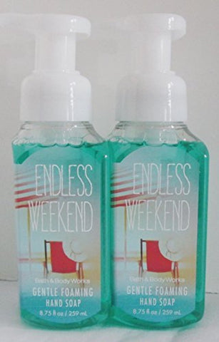 Endless Weekend Gentle Foaming Hand Soap (Set of Two) 8.75 Oz Each