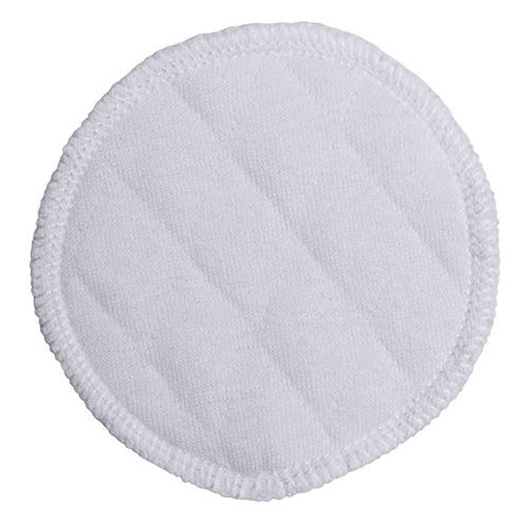 Reusable Organic Cotton Makeup Remover Pads - 20 Pack - All-Natural Fibers, GOTS-Certified Material - Washable, Hypoallergenic Face Wipes - Great for Sensitive Skin, Nature-Friendly Alternative