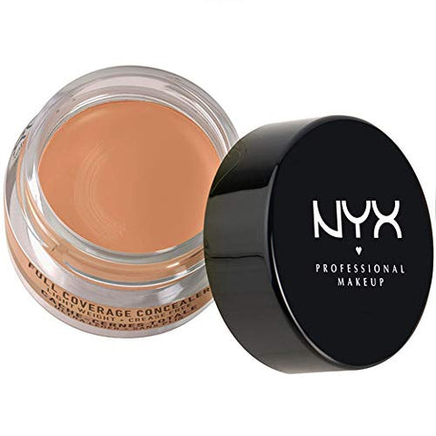 NYX Above & Beyond Full Coverage Concealer Jar-0.25 oz (Tan-CJ07)