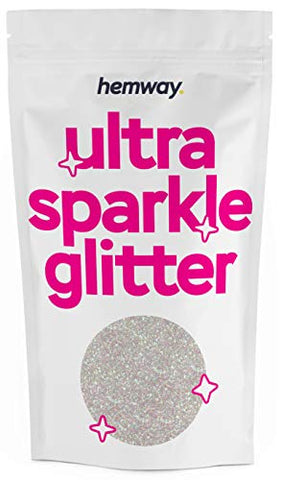 Hemway | Ultra Sparkle Glitter 100g (Mother of Pearl)