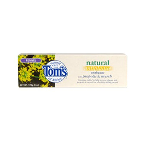 Tom's of Maine Propolis and Myrrh Toothpaste Spearmint, 5.5 Ounce