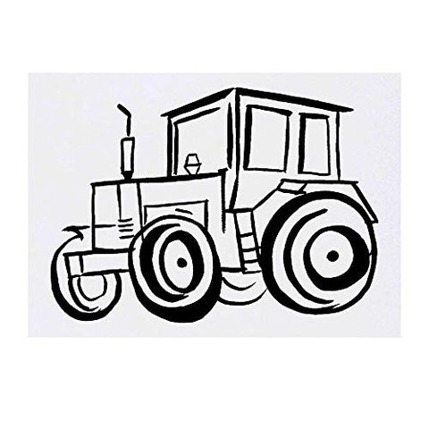 Azeeda Large 'Tractor' Temporary Tattoo (TO00018026)
