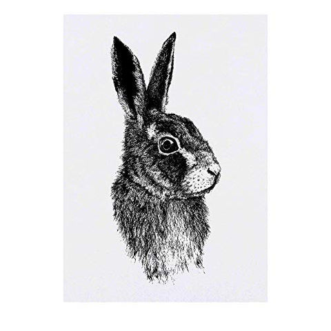Azeeda Large 'Rabbit' Temporary Tattoo (TO00016846)