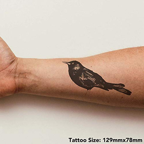 Azeeda Large 'Blackbird' Temporary Tattoo (TO00017381)