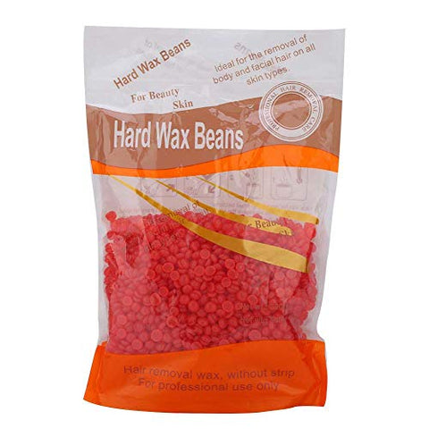 Wax Beans, Depilatory Hard Wax for Painless Hair Removal Ideal for All Body Parts Paper-Free Solid Wax Beans(3#)
