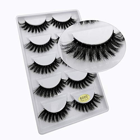Eyelashes Natural Mink 3D Eyelashes False 5/10/50 pairs Eye Lashes Mink Lashes Fake Eyelash Extensions maquiagem faux cils (10 Pairs)