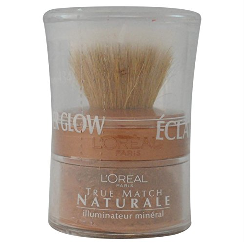 L'oreal Paris True Match Naturale All-over Mineral Glow, Honey Glow, 0.15 Ounce, 2 Ea