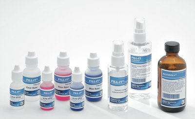 AMD Fill-IT Adhesive Blue Base Refill 1/2oz Bottle