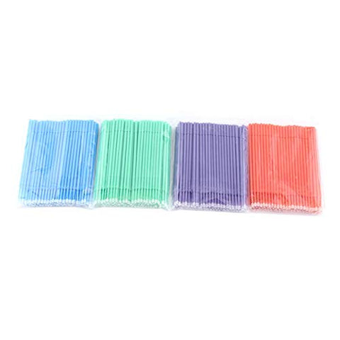 Oral Clinic Tool 400pcs Dental Swabs, Dental Micro Applicator Brush Bendable Ultrafine for Makeup