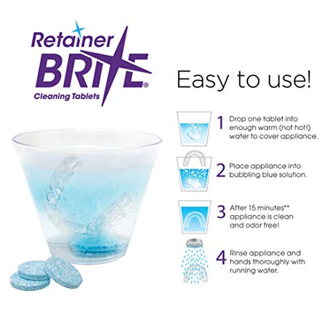 Retainer Brite Retainer Brite, 1 Year Supply, 384 Tabletsâ , 384 Count