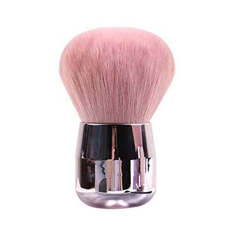JOSALINAS Kabuki Foundation Makeup Brushes Round Top for Face Blusher Liquid Powder Blend and Contour Tool and Mineral BB Cream, Round