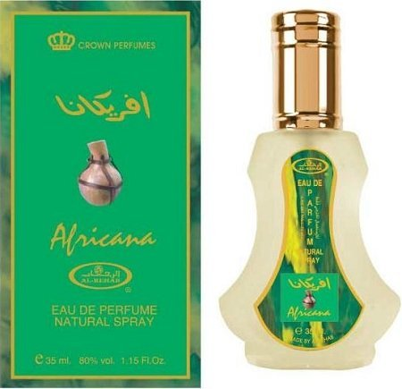 Africana   Al Rehab Eau De Natural Perfume Spray   35 Ml (1.15 Fl. Oz)