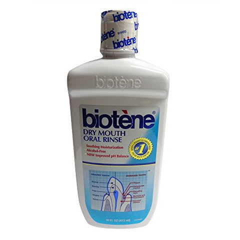 Biotene Mouthwash with Calcium 16 oz. (Pack of 6)